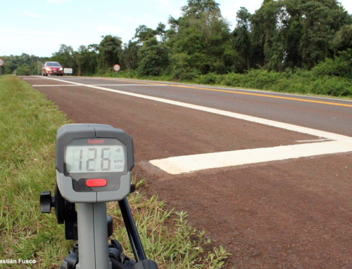 Con radares, la Red Yaguareté demostró que las bandas sonoras no alcanzan para frenar los atropellamientos de fauna silvestre en las rutas de Misiones.