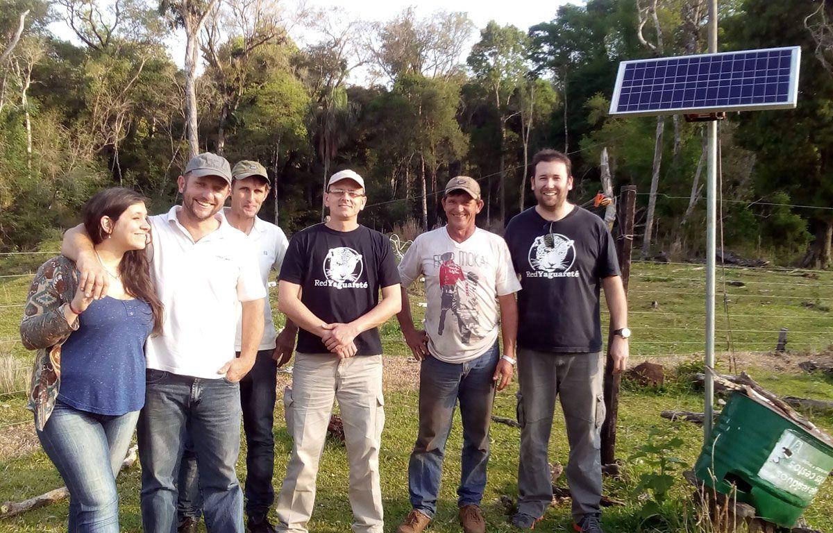Productores de la Asociación de Ganaderos del Alto Paraná visitaron campos amigables con el Yaguareté.