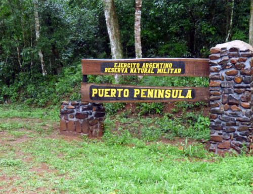New signage in Puerto Península